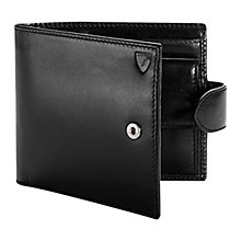 Buy Aspinal of London Billfold Coin Tab Wallet, Black Online at johnlewis.com
