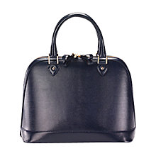 Buy Aspinal of London Hepburn Tote Handbag, Navy Online at johnlewis.com