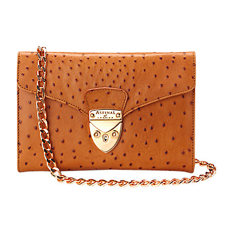 Buy Aspinal of London Manhattan Leather Clutch Handbag Online at johnlewis.com