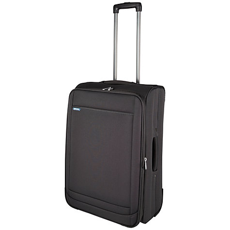 Buy John Lewis London II 2-Wheel Medium Suitcase, Dark Grey Online at johnlewis.com