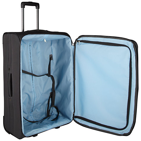 Buy John Lewis London II 2-Wheel Large Suitcase, Dark Grey Online at johnlewis.com