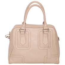 Buy Chesca Large Leather Bowling Handbag Online at johnlewis.com