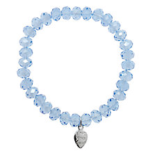 Buy Martick Crystal Heart Bracelet Online at johnlewis.com