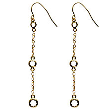 Buy Melissa Odabash Channel Drop Earrings Online at johnlewis.com