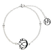 Buy Melissa Odabash Lotus Plated Charm Bracelet Online at johnlewis.com