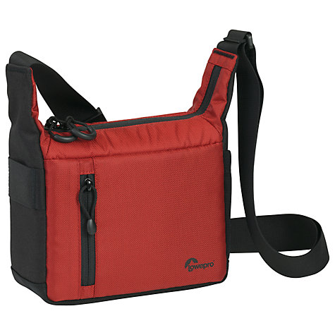 Buy Lowepro Streamline 100 Camera Case, Red Online at johnlewis.com