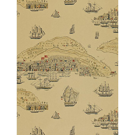 Buy Zoffany Trade Routes Wallpaper, Antique, Tra04003 Online at johnlewis.com