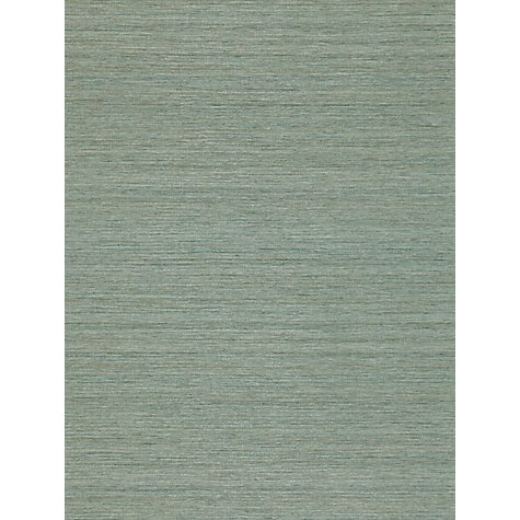 Buy Zoffany Wild Silk Wallpaper, Teal, EWP04018 Online at johnlewis.com