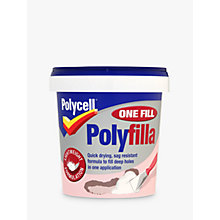 Buy Polycell DIY One Fill Polyfilla, 600ml Online at johnlewis.com