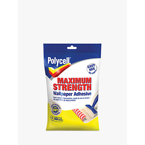 Buy Polycell DIY Maximum Strength Wallpaper Adhesive Online at johnlewis.com