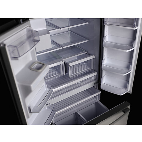 Buy John Lewis JL3DFS1801 3-Door American Style Fridge Freezer, Stainless Steel Online at johnlewis.com