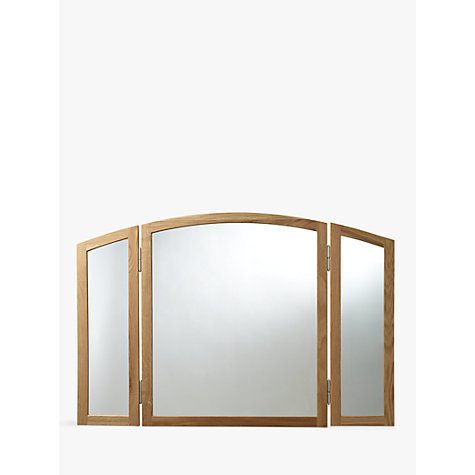 Buy John Lewis Essence Gallery Mirror, Oak Online at johnlewis.com