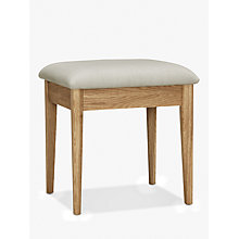 Buy John Lewis Essence Stool, Oak Online at johnlewis.com