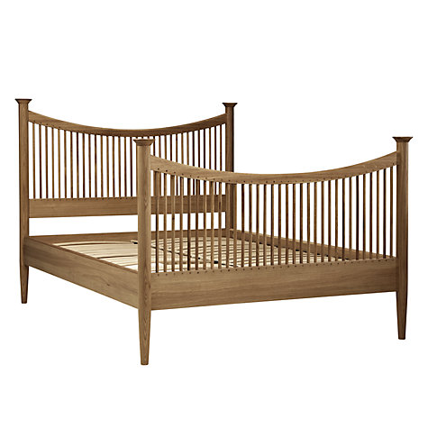 Buy John Lewis Essence High End Bed, Oak, Double Online at johnlewis.com