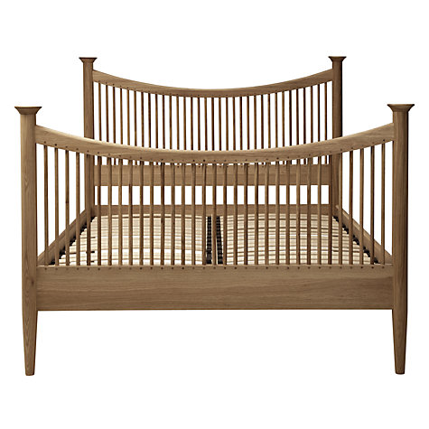 Buy John Lewis Essence High End Bed, Oak, Super Kingsize Online at johnlewis.com