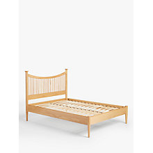Buy John Lewis Essence Low End Bed, Oak, Double Online at johnlewis.com