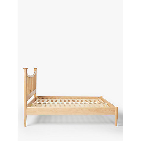 Buy John Lewis Essence Low End Bed, Oak, Kingsize Online at johnlewis.com