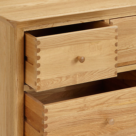 Buy John Lewis Essence 6 Drawer Chest of Drawers, Oak Online at johnlewis.com