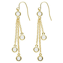 Buy Melissa Odabash Plated Triple Drop Earrings Online at johnlewis.com