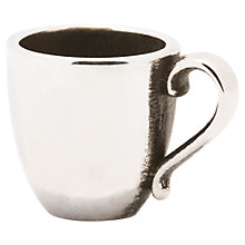 Buy Trollbeads Coffee Mug Silver Bead Online at johnlewis.com