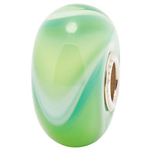 Buy Trollbeads Mixed Green Armadillo Glass Bead, Green Online at johnlewis.com
