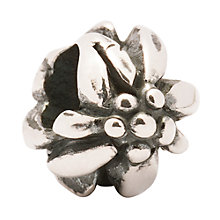 Buy Trollbeads Mountain Flower Silver Bead Online at johnlewis.com