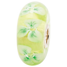 Buy Trollbeads Snowdrop Glass Beads, Green Online at johnlewis.com