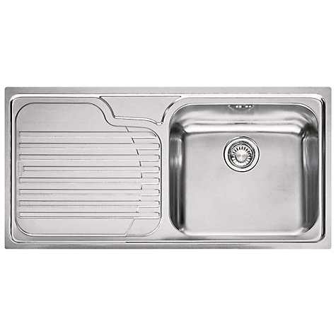 Franke Galassia Sink : Buy Franke Galassia GAX 611 Inset Kitchen Sink with Right Hand Bowl ...