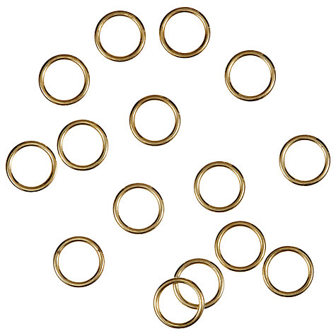 Buy Ring Embellishments, Gold, Pack of 15 Online at johnlewis.com