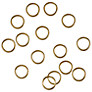 Ring Embellishments, Gold, Pack of 15