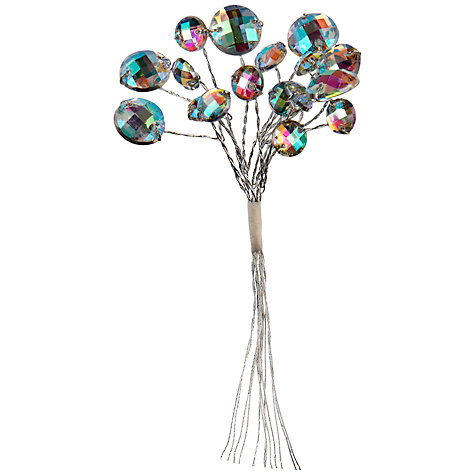 Buy John Lewis Iridescent Baubles, Pack of 6 Online at johnlewis.com