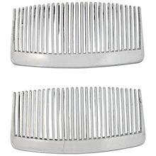 Buy John Lewis Plastic Hair Combs, Pack of 2 Online at johnlewis.com