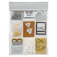 Buy John Lewis Wedding Card Kit Online at johnlewis.com