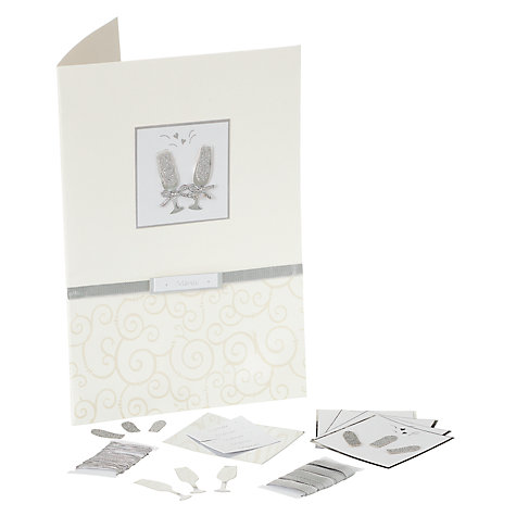 Buy John Lewis Champagne Menu Kit Online at johnlewis.com