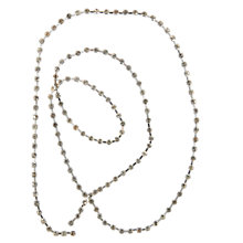 Buy John Lewis Diamante Chain, 1m Online at johnlewis.com