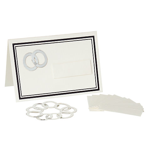 Buy John Lewis Rings Place Card Kit Online at johnlewis.com