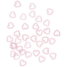 Buy Heart Embellishments, Lilac, Pack of 30 Online at johnlewis.com