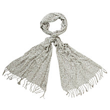 Buy John Lewis Foil Dot Wrap, Silver Online at johnlewis.com