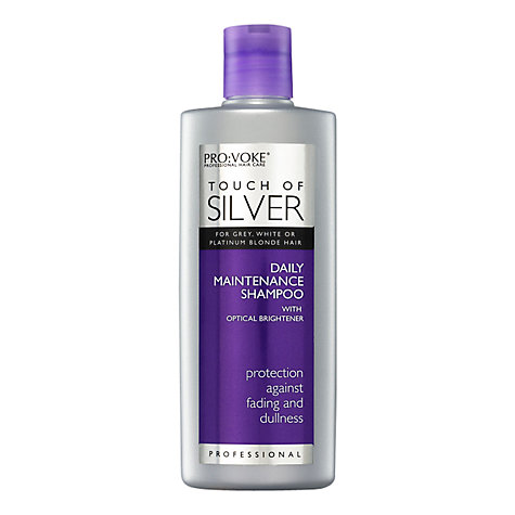 Buy Touch of Silver Daily Maintenance Shampoo, 200ml Online at johnlewis.com