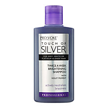 Buy Touch of Silver Twice A Week Brightening Shampoo, 150ml Online at johnlewis.com