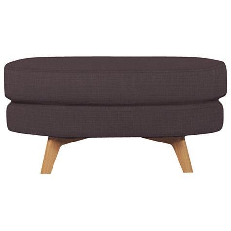 Buy John Lewis Barbican Footstool with Light Legs Online at johnlewis.com