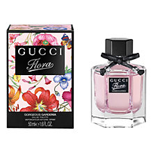 Buy Gucci Flora Gorgeous Gardenia Eau de Toilette, 50ml Online at johnlewis.com
