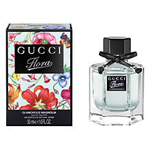 Buy Gucci Flora by Gucci Glamorous Magnolia Eau de Toilette, 50ml Online at johnlewis.com