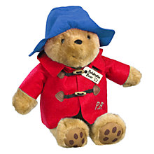 Buy Cuddly Paddington Bear Soft Toy, Assorted Online at johnlewis.com