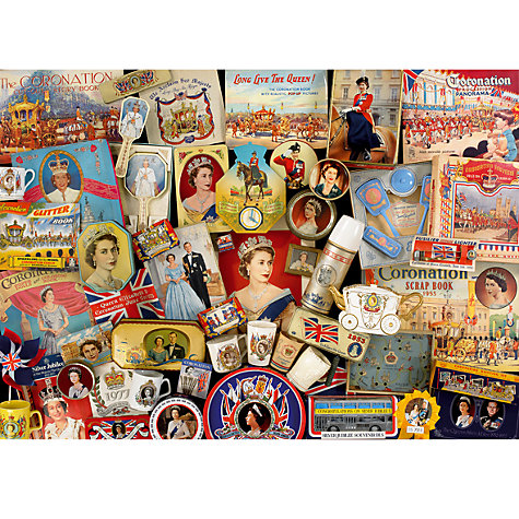 Buy Gibsons Queen's Diamond Jubilee Puzzle Online at johnlewis.com