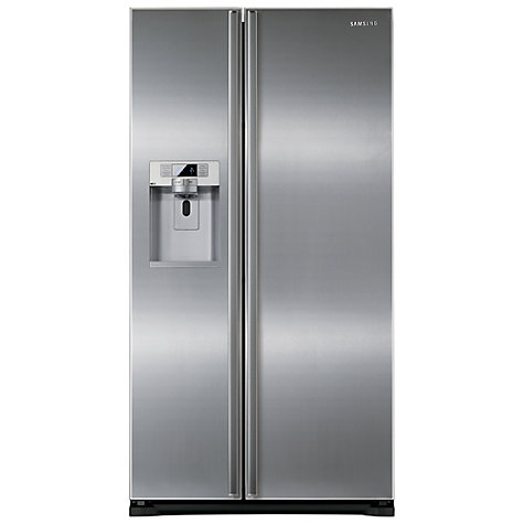 Buy Samsung RSG5UURS American Style Fridge Freezer, Stainless Steel Online at johnlewis.com