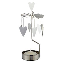 Buy Rotary Tealight Holder, Hearts Online at johnlewis.com