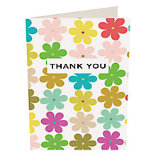 Buy Caroline Gardener Flowers Thank You Notecards, Pack of 10 Online at johnlewis.com