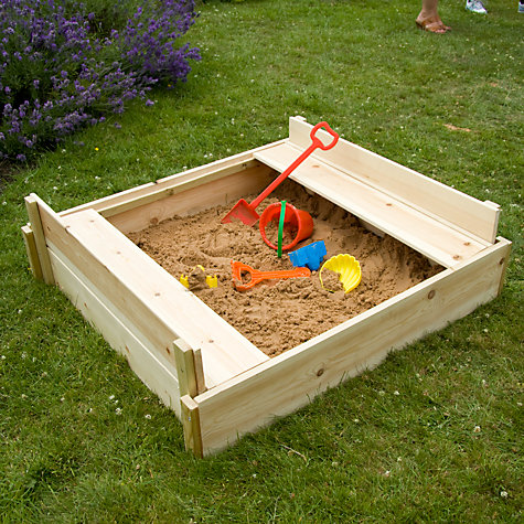 Buy TP292 Wooden Lidded Sandpit Online at johnlewis.com