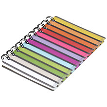 Buy Go Stationery Stripe Notebook, A6 Online at johnlewis.com
